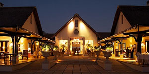 The Royal Livingstone Hotel in Zimbabwe, Victoria Falls